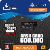 GTA V - digitale valuta - 500.000 GTA dollars - NL - PS4 download