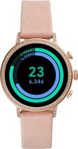 Fossil Q Venture Gen 4 FTW6015 - Smartwatch - Roségoud/Roze