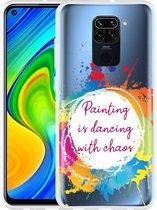 Xiaomi Redmi Note 9 Hoesje Painting
