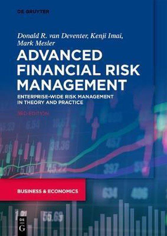 Boek cover Advanced Financial Risk Management van Donald R. Van Deventer (Paperback)