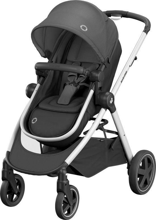 Maxi Cosi Zelia Kinderwagen - Essential Black