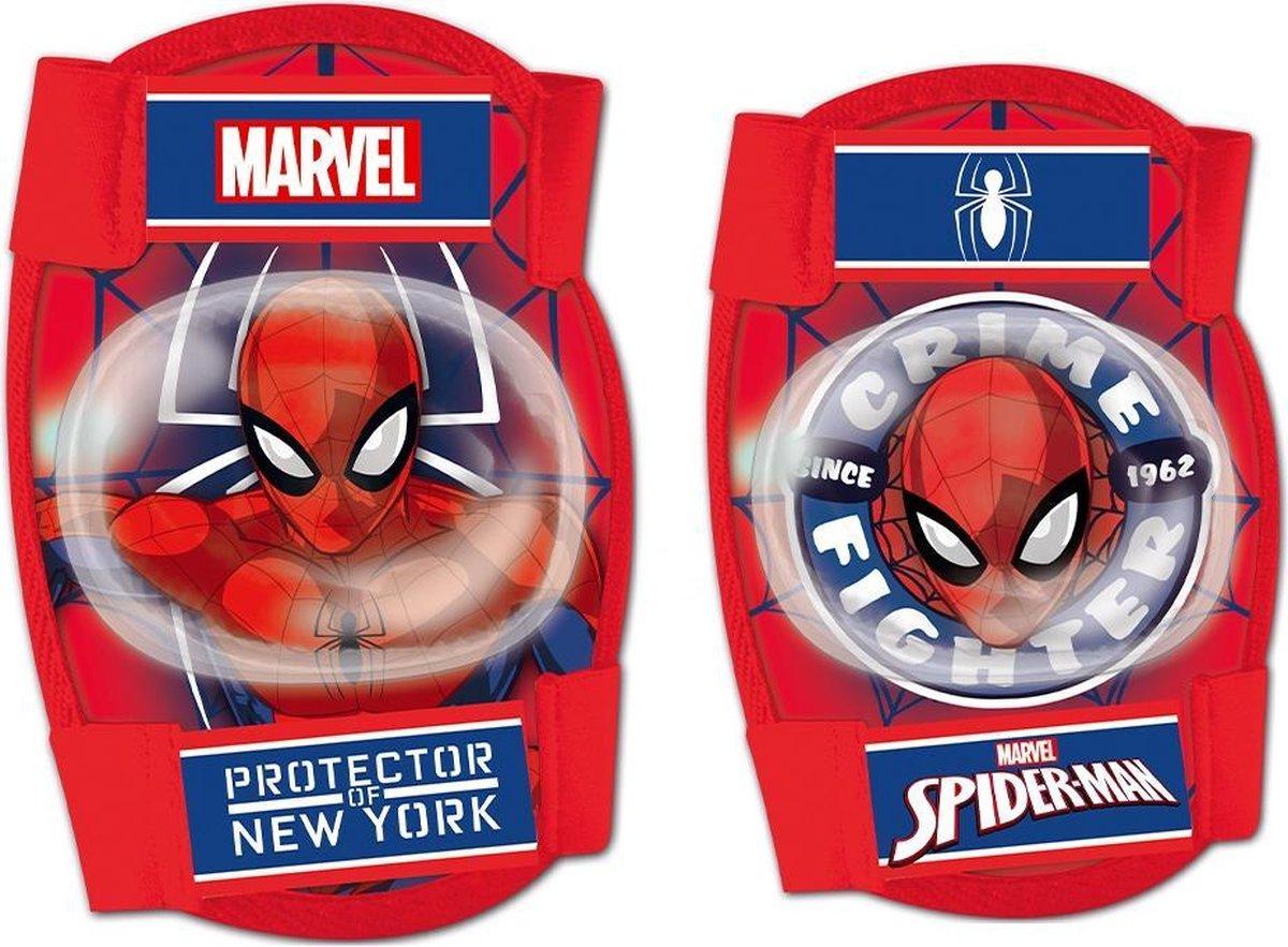 Disney Beschermset Spider-man Junior Foam Rood 4-delig Maat S