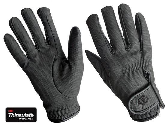 Handschoenen Rider Pro Serino winter - Zwart, XL