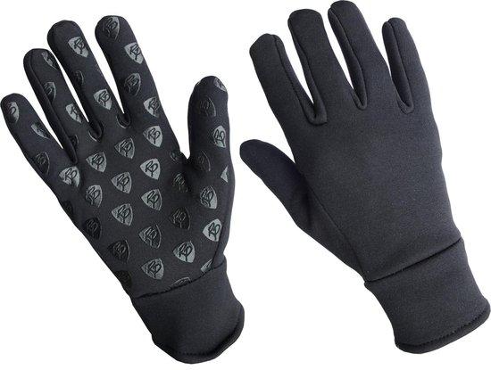 Handschoenen Rider Pro Boston nylon fleece - Zwart, L