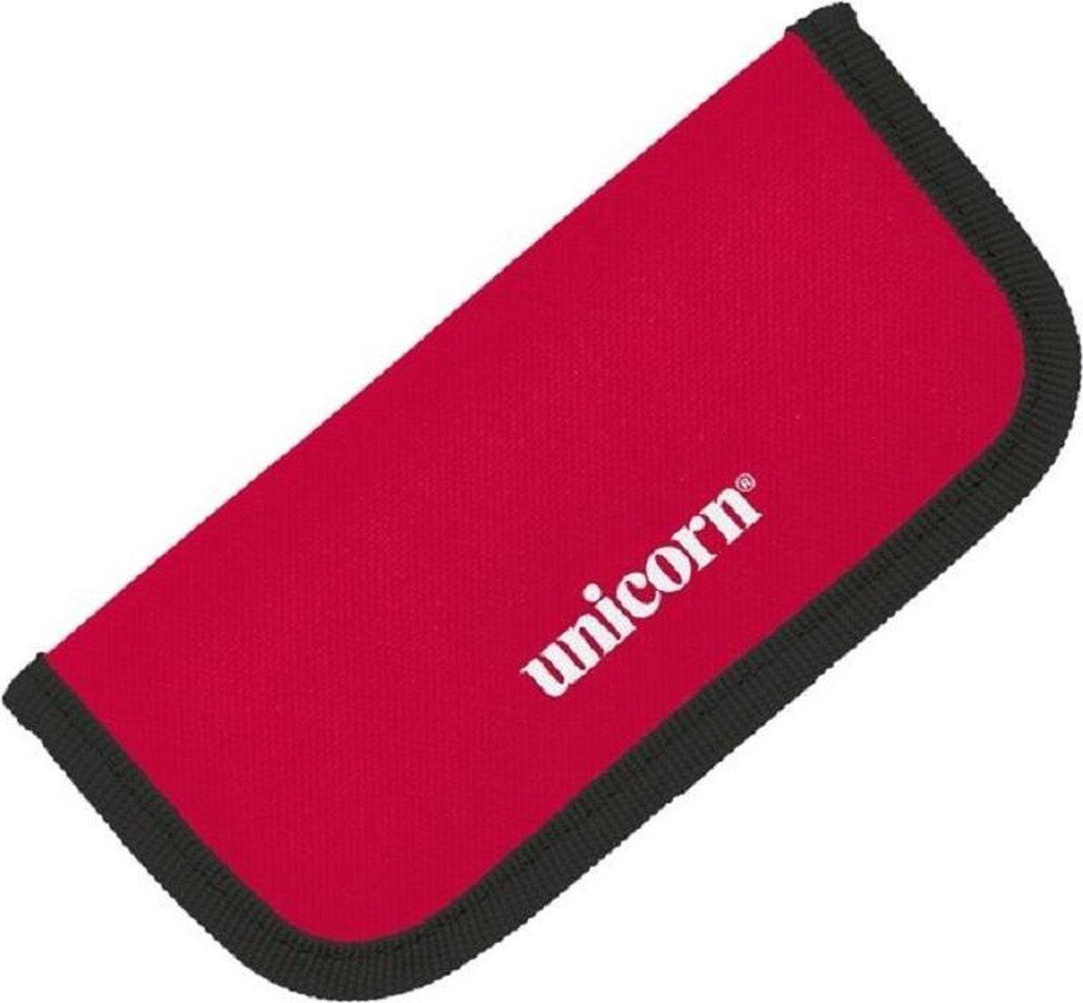 Unicorn Midi Velcro Case - Rood - Zwarte rand