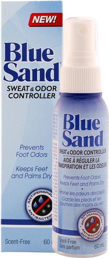 Blue Sand HygieSeal deodorant - voor de flinke zweter! - Made in Canada - spray 60ml.