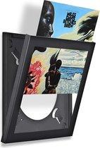 LP vinyl wissellijst frame - fotolijst zwart