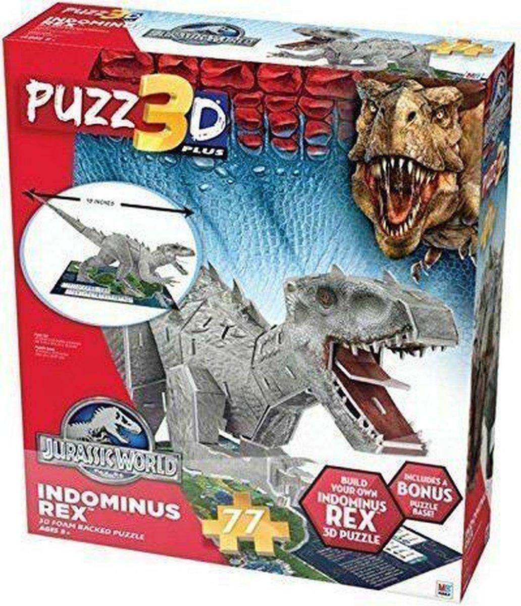 Jurrasic World-3D puzzel-Indominus Rex-77 stukjes