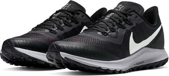 Nike Wmns Air Zoom Pegasus 36 Trail Dames Hardloopschoenen - Oil  Grey/Barely Grey-Black-Wolf Grey - Maat 40,5