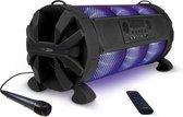 Caliber HPG519BTL - Party speaker met led verlichting  en accu - Zwart
