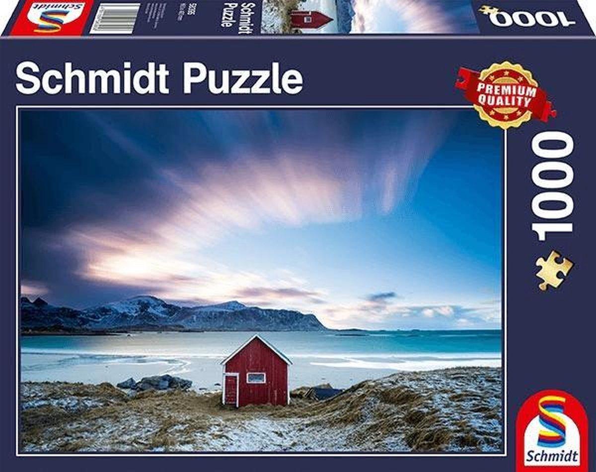 Hutje aan de Atlantische Kust, 1000 stukjes Puzzel