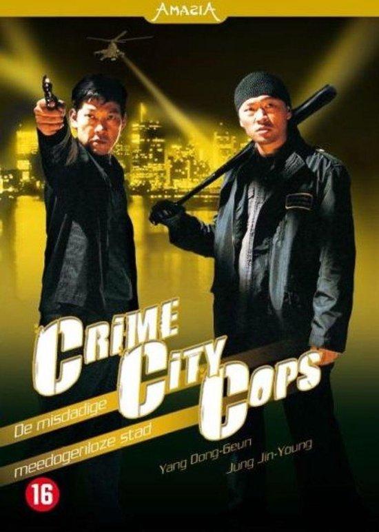 Cover van de film 'Crime City Cops'