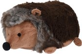 1x Deurstopper bruine egel liggend 23 cm - Huishouden - Woonaccessoires/benodigdheden - Kinderkamer - Deurstoppers dieren egels bruin
