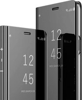 Samsung Galaxy S10 Plus Hoesje - Clear View Cover - Zwart