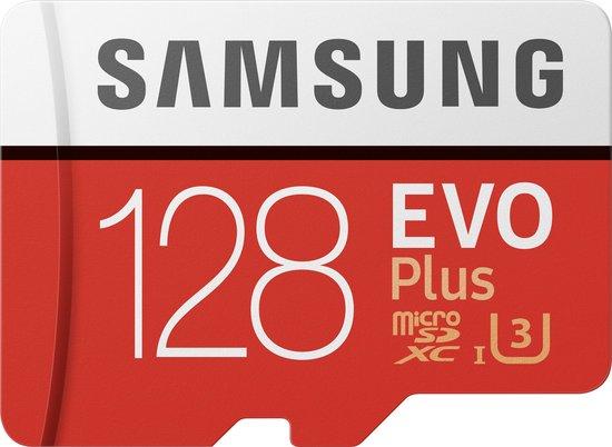 Afbeelding van Samsung EVO Plus MicroSDXC 128 GB - Versie 2020