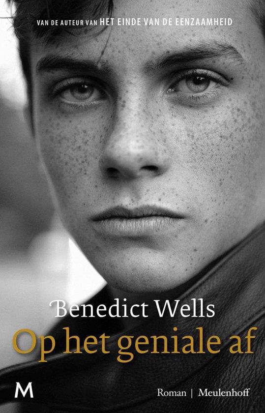 Boek cover Op het geniale af van Benedict Wells (Onbekend)