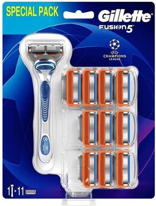Gillette Fusion scheerapparaat voor mannen Blauw, Grijs