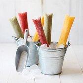 Wegwerp waterijs vormpjes met zip seal / sealbag voor waterijsjes / DIY waterijsjes maken / Sillicoon voor ijs