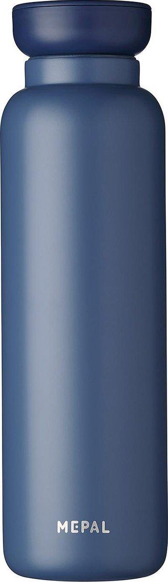 Mepal   Isoleerfles Ellipse 900 ml   houdt je drankje 12 uur warm en 24 uur koud   Nordic denim   Ge