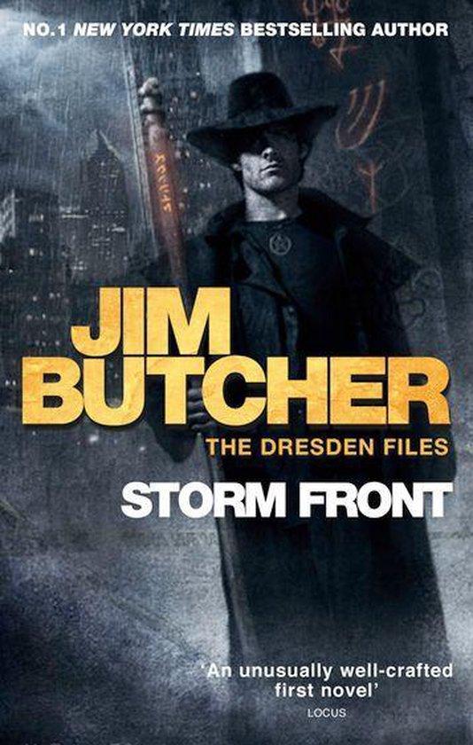 Boek cover Storm Front van Jim Butcher (Onbekend)