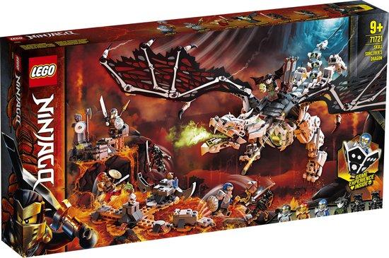 LEGO NINJAGO Skull Sorcerer's Draak - 71721