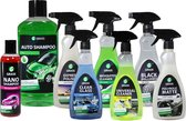 Grass Car Care - Starter Set Apple - Autopoets pakket - Auto Reiniging - Voor Interieur en Exterieur