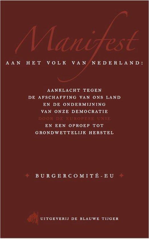 Manifest aan het volk van Nederland - Arjan van Dixhoorn |