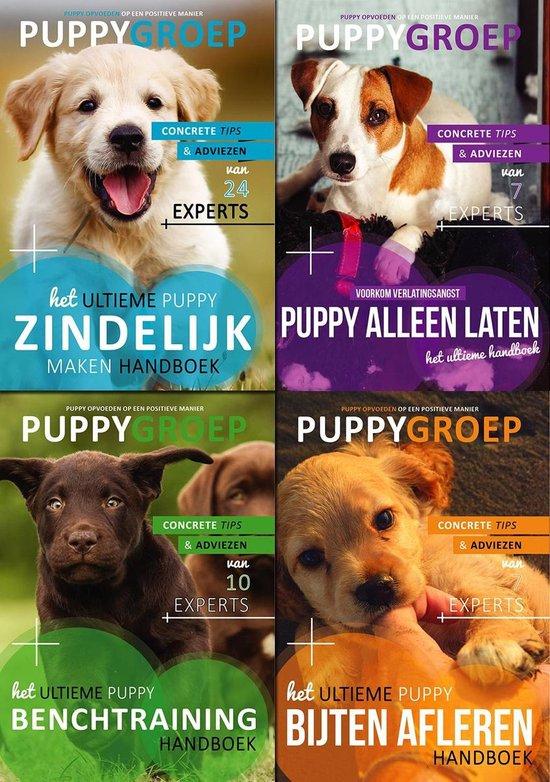 Puppy boeken van Puppygroep (4 boeken)
