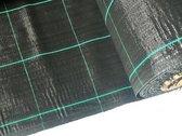Gronddoek - worteldoek Europese top kwaliteit 1,05M breed x 75M lang; totaal 78,75M² inclusief 100 gronddoekpennen