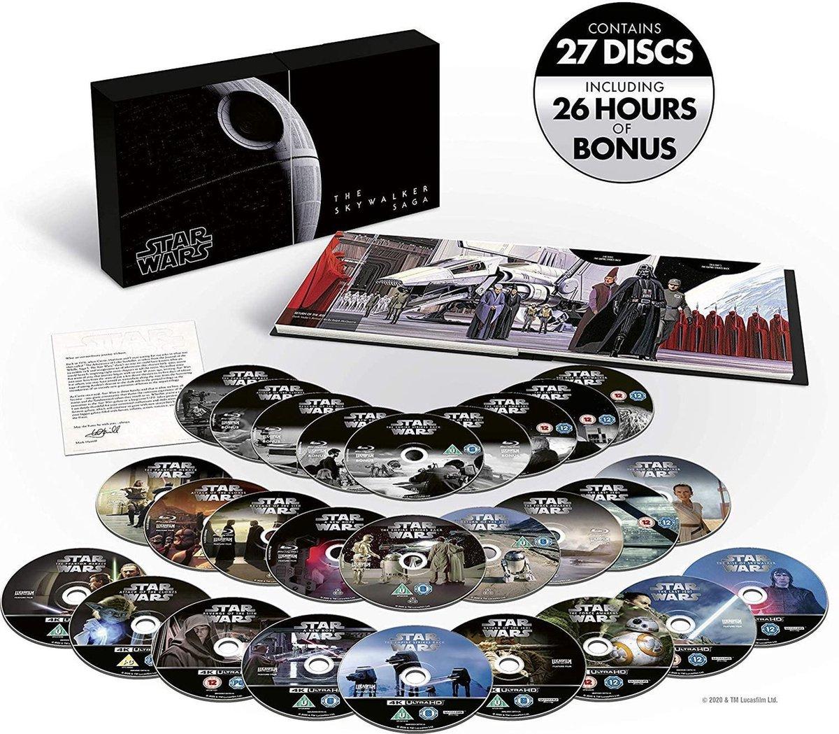 Star Wars: The Skywalker Saga Complete Box Set (4K UHD) (Import)-