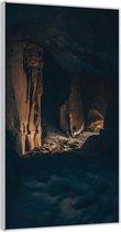 Plexiglas –Grotten– 100x200cm Foto op Glas (Wanddecoratie op Plexiglas)