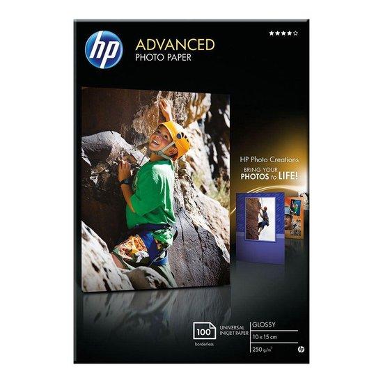 Afbeelding van HP Fotopapier 250g - 10x15cm - 100 vellen
