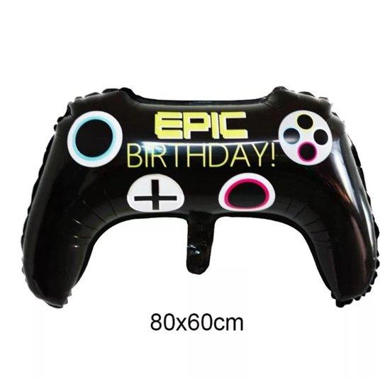 Epic Birthday Game Controller Folie Ballon