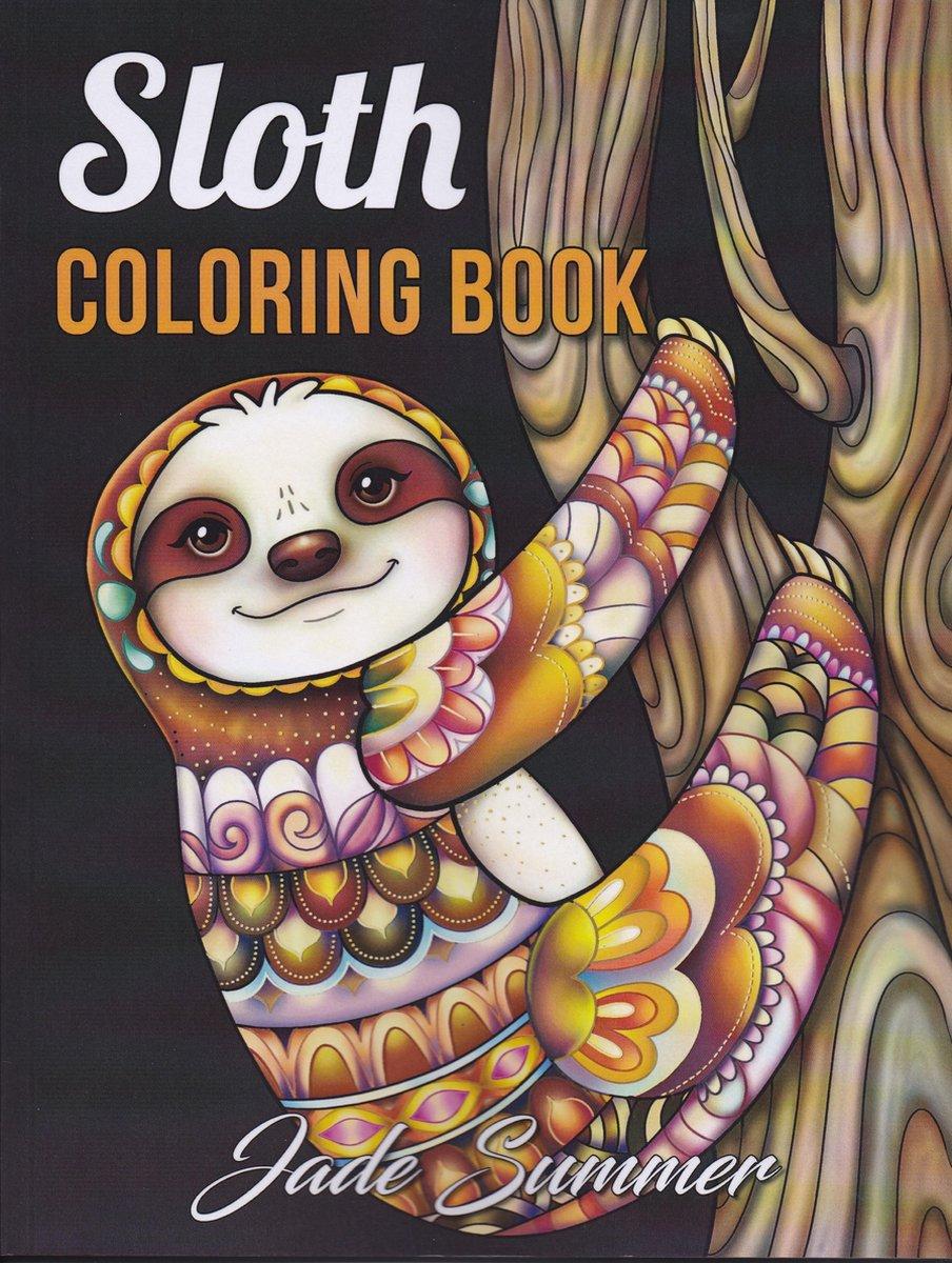 Sloth Coloring Book - Jade Summer kopen