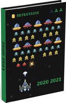 Schoolagenda Mixed Design Arcade Game 2020 - 2021 (formaat A6+)
