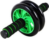 Ab Wheel - Met Gratis Knie-mat - Ab Roller – Home Trainer – Fitness mat – Home Workout – Crossfit - Buikspieren - Stabiel Buikspier Wiel - Buikspiertrainer - Thuis Sporten