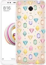 Xiaomi Redmi 5 Plus Hoesje Diamonds