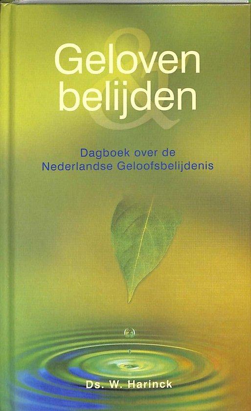 Geloven En Belijden - W. Harinck pdf epub