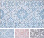 Hortus Forcia - Buiten vloerkleed - Tuinmat Voor Buiten en Binnen - Buitenmat - Tuinkleed - Buitenkleed - 120x180cm - Roze