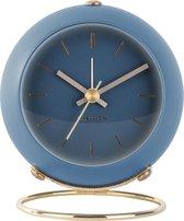 Karlsson Globe - Wekker - Ijzer - �5cm - Donkerblauw