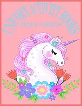 Unicorn Activity Books Only Girls