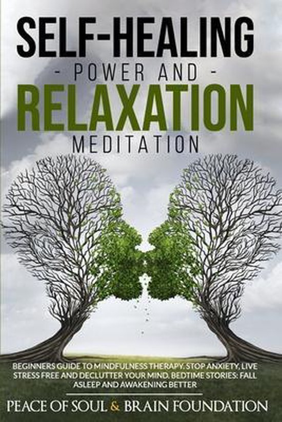 Self-Healing Power and Relaxation Meditation: Beginners Guide to Mindfulness Therapy. Stop Anxiety, Live Stress Free and Declutter Your Mind. Bedtime Stories