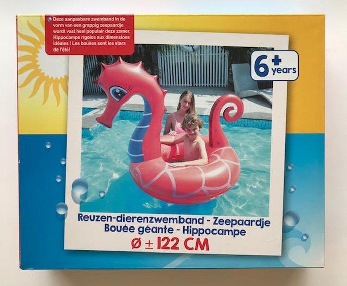Reuzen Zwemband Zeepaard 122cm Zwembad Zomer