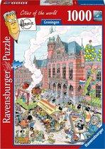 Ravensburger puzzel Fleroux Groningen - Legpuzzel - 1000 stukjes Fleroux