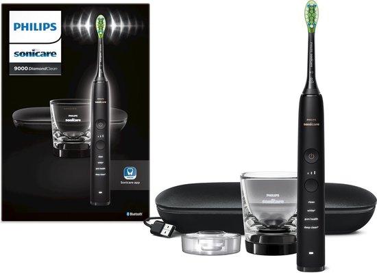 Philips Sonicare DiamondClean 9000 HX9911/13 - Luxe elektrische tandenborstel - Mat zwart
