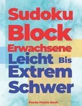 Sudoku Block Erwachsene Leicht Bis Extrem Schwer