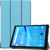 3-Vouw sleepcover hoes - Lenovo Tab M8 - Lichtblauw