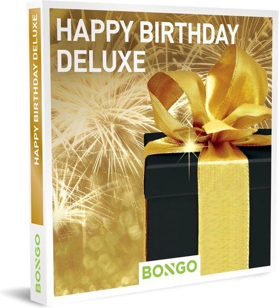 Bongo Bon Nederland - Happy Birthday Deluxe Cadeaubon - Cadeaukaart cadeau voor man of vrouw   146 belevenissen: van avontuur tot hotelovernachting