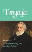 Boek cover De Russische bibliotheek - Romans van Ivan Toergenjev (Onbekend)