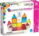 Magna-Tiles® Stardust - Set van 15 magnetische tegels